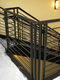 Custom Stairs and Rails